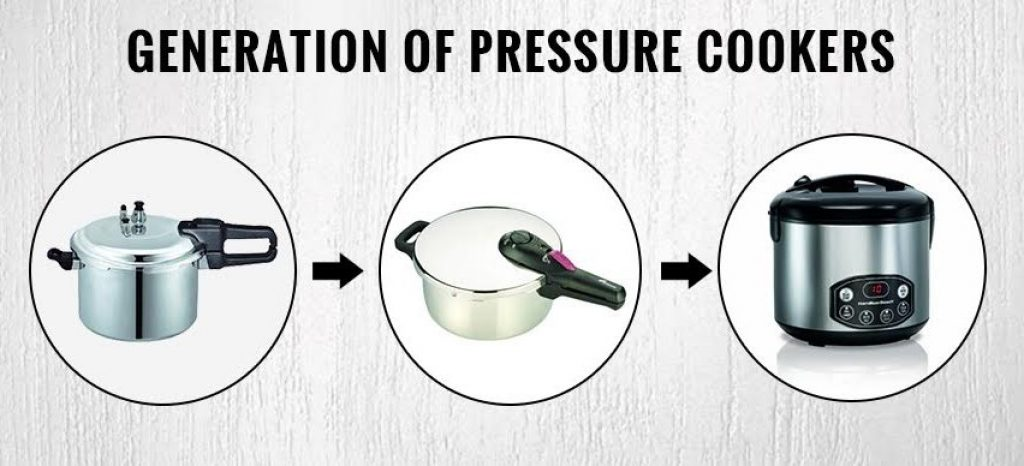 Generation of pressure cookers
